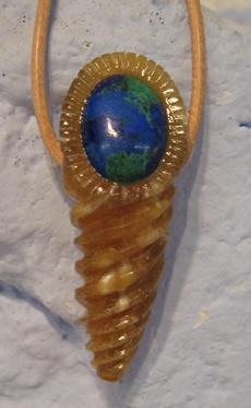 Donnerkeil -Talisman Sonderanfertigung, gefertigt im Atelier Donnerkeil auf Kap Arkona