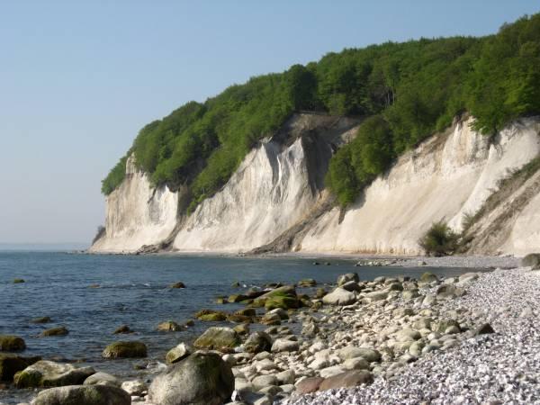Die Wissower Klinken auf der Insel Rügen.