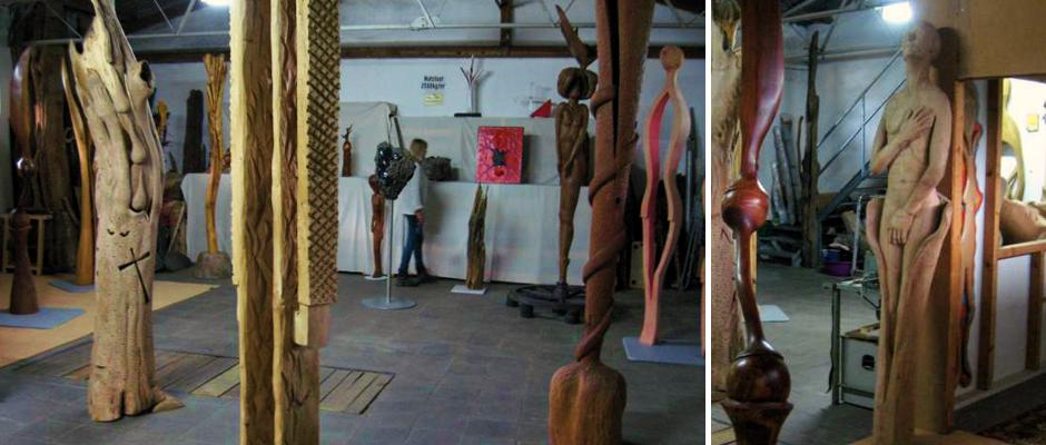 Das Atelier Donnerkeil auf der Insel Ruegen begruesst Sie herzlich zur Kunst auf Kap Arkona